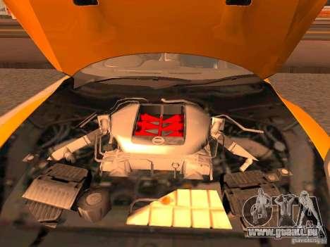 Nissan GT-R SpecV Black Revel pour GTA San Andreas vue arrière