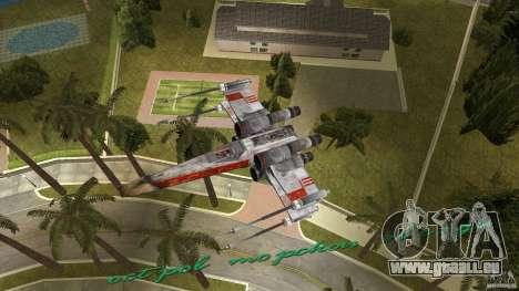 X-Wing Skimmer für GTA Vice City Seitenansicht