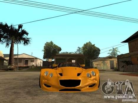 Gillet Vertigo für GTA San Andreas rechten Ansicht