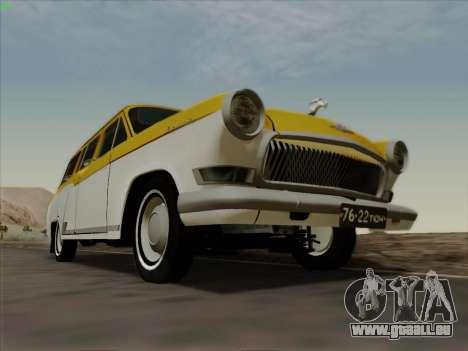 GAZ 22 pour GTA San Andreas vue arrière