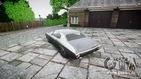 Chevrolet Chevelle SS 1970 pour GTA 4 est une gauche