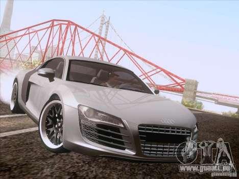 Audi R8 Hamann für GTA San Andreas zurück linke Ansicht