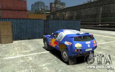 Volkswagen Touareg Rally für GTA 4 hinten links Ansicht