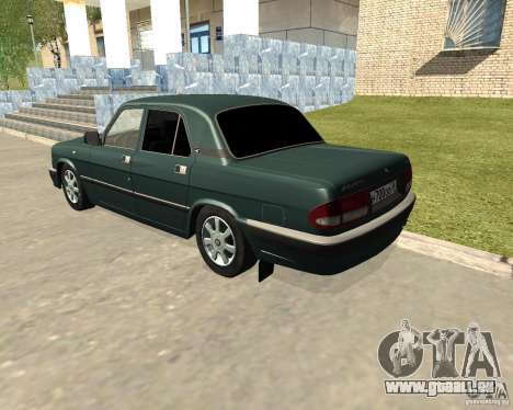 Volga GAZ 3110 für GTA San Andreas linke Ansicht