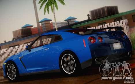 Nissan GTR Egoist pour GTA San Andreas laissé vue