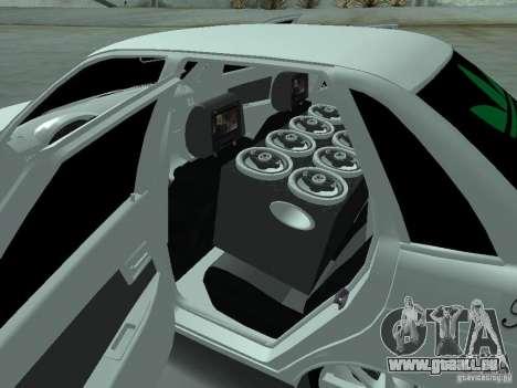 Lada Priora Adidas pour GTA San Andreas vue de dessus