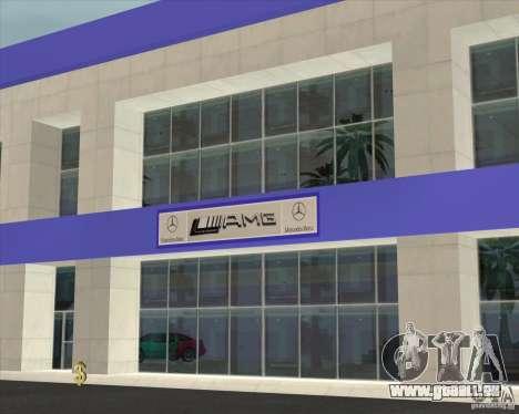 AMG showroom für GTA San Andreas zweiten Screenshot