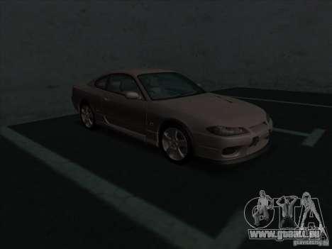 Nissan Silvia S15 Tunable KIT C1 - TOP SECRET für GTA San Andreas linke Ansicht