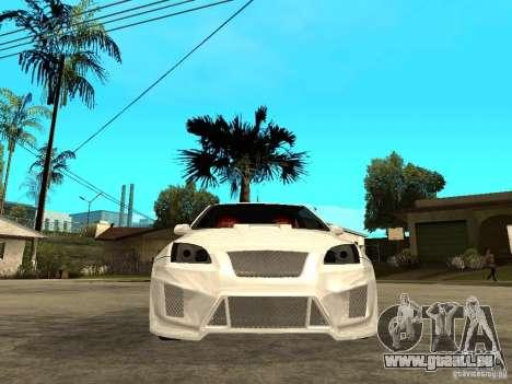 Ford Focus Tuned pour GTA San Andreas vue de droite