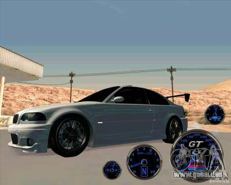 Bmw 330 Tuning pour GTA San Andreas