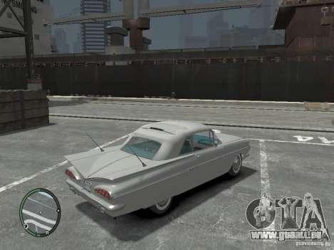 Chevrolet Impala 1959 Soupe pour GTA 4 est un droit