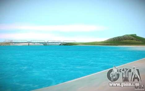 HD-Wasser für GTA San Andreas dritten Screenshot
