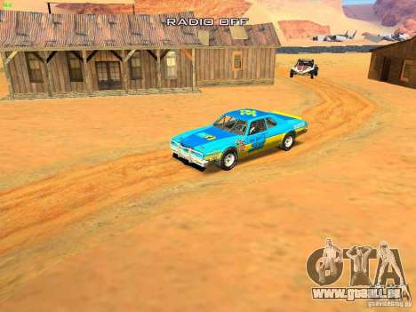 Jupiter Eagleray MK5 für GTA San Andreas Motor