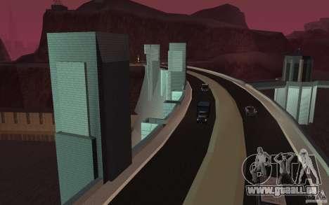 Le nouveau barrage pour GTA San Andreas deuxième écran