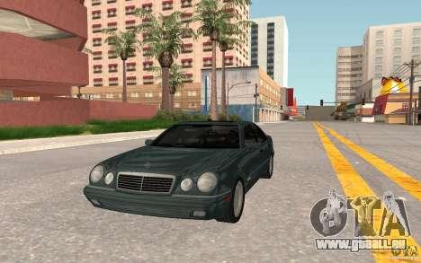 Mercedes Benz E420 W210 pour GTA San Andreas