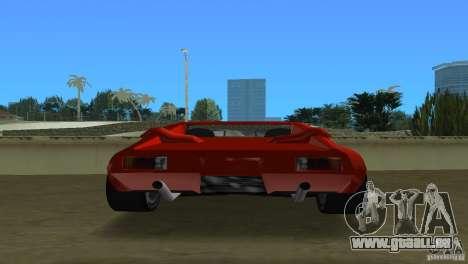 De Tomaso Pantera für GTA Vice City rechten Ansicht