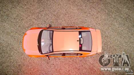 Holden Commodore SS (FBINOoSE) pour GTA 4 vue de dessus