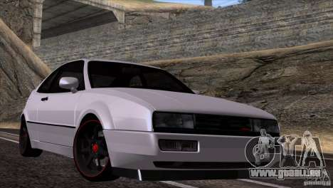 Volkswagen Corrado VR6 pour GTA San Andreas sur la vue arrière gauche