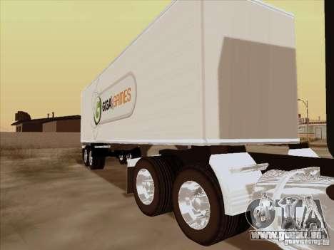 Caband trailer pour GTA San Andreas laissé vue