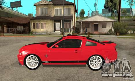 Ford Shelby GT500 Supersnake 2010 für GTA San Andreas linke Ansicht