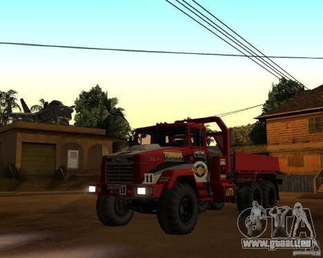 KrAZ-6322-Testversion für GTA San Andreas linke Ansicht