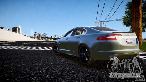 Jaguar XFR 2010 pour GTA 4 est une gauche