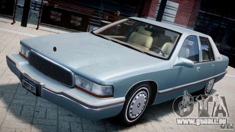 Buick Roadmaster Sedan 1996 v 2.0 pour GTA 4