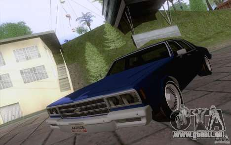 Chevrolet Caprice Clasico für GTA San Andreas linke Ansicht