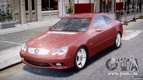 Mercedes-Benz CLK 63 AMG 2005 für GTA 4 linke Ansicht