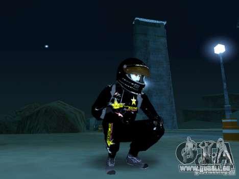 Rockstar PED für GTA San Andreas zweiten Screenshot