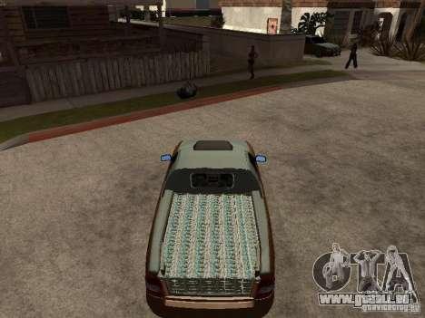 LADA 2170 Pickup für GTA San Andreas rechten Ansicht
