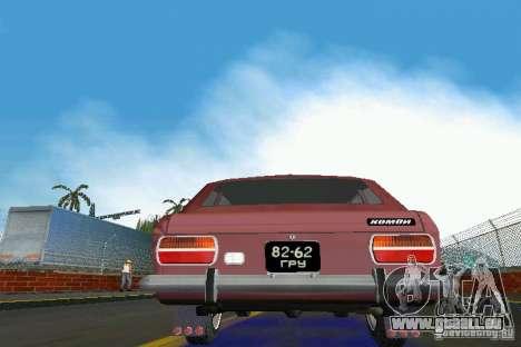 IZH-2125 Kombi pour GTA Vice City vue arrière