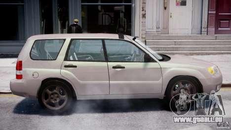 Subaru Forester v2.0 pour GTA 4 est un côté