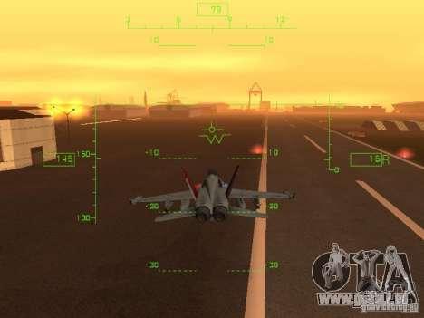 Luftfahrt HUD für GTA San Andreas her Screenshot