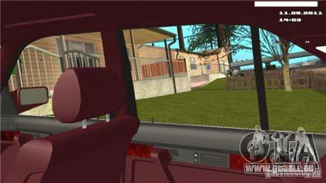 First-Person-Kamera im Auto für GTA San Andreas dritten Screenshot