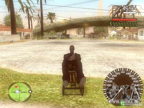 Sani für GTA San Andreas rechten Ansicht