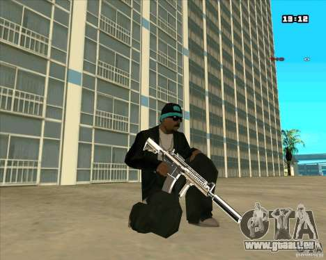 Chrome Weapon Pack pour GTA San Andreas cinquième écran