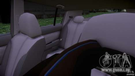 Nissan Versa pour GTA 4 est une vue de l'intérieur