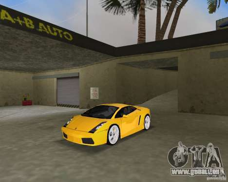 Lamborghini Gallardo v.2 pour GTA Vice City