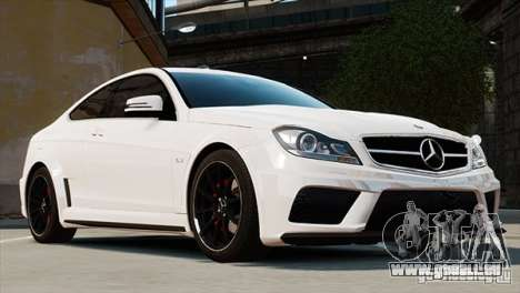 Mercedes-Benz C63 AMG pour GTA 4