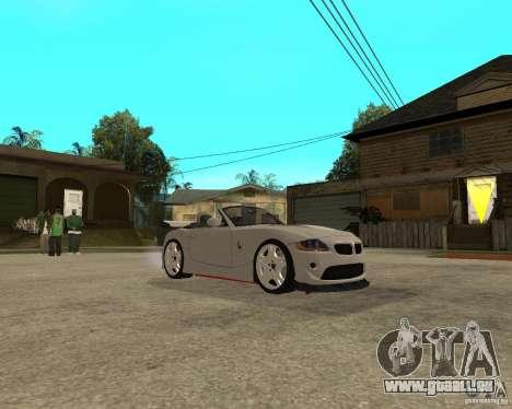 BMW Z4 Supreme Pimp TUNING volume II pour GTA San Andreas vue arrière