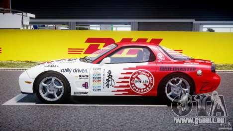 Mazda RX-7 1997 v1.0 [EPM] pour GTA 4 est une vue de l'intérieur