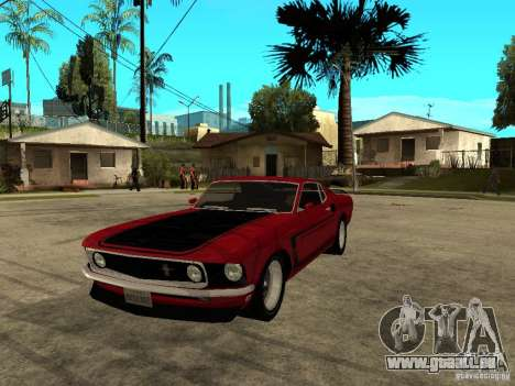 1969 Ford Mustang Boss 302 pour GTA San Andreas