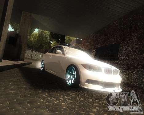 BMW 135i Hella Drift pour GTA San Andreas