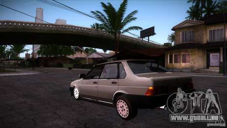 Fiat Regata für GTA San Andreas zurück linke Ansicht