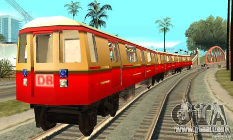 Liberty City Train DB pour GTA San Andreas