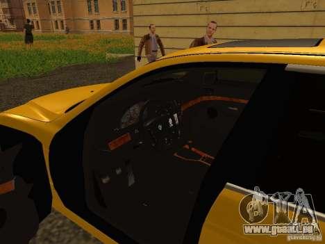 BMW 540i pour GTA San Andreas vue arrière