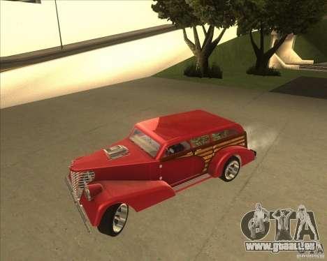 Custom Woody Hot Rod pour GTA San Andreas