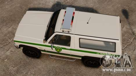 Polizei Rancher ELS für GTA 4 rechte Ansicht