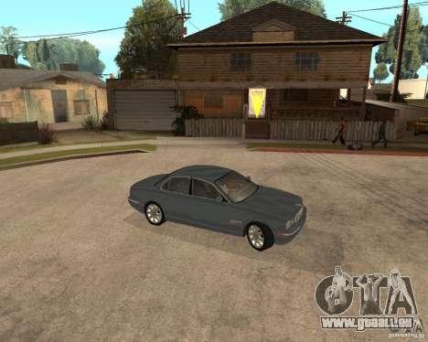 Jaguar XJ-8 2004 pour GTA San Andreas vue de droite